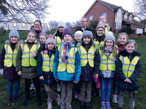 WHEN Brownies from Bromley Heath heard that thieves had stolen a collection box in aid of a charity which cares for terminally ill children, they decided to take action.