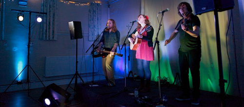 Alden, Patterson and Dashwood (support from Molly-Anne), Downend Folk Club Friday February 15
