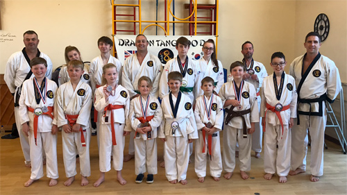 Karate kids compete in UK Open