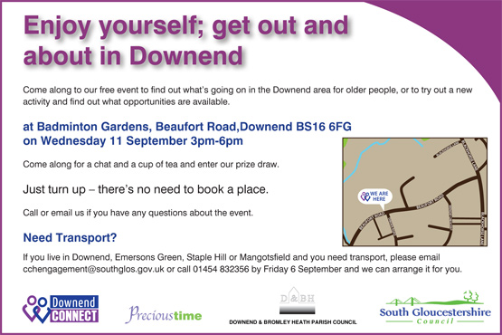 downend connect advert