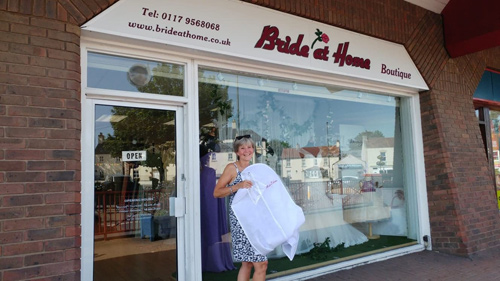 Customer's cancer inspires shop to support charity