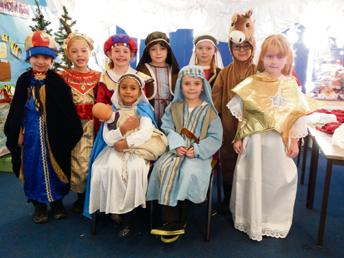 Children at Frome Vale Academy staged a nativity play for parents and friends.