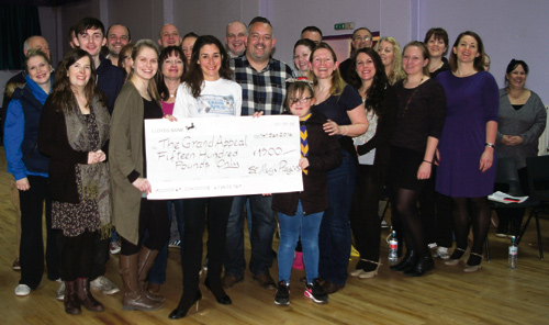 St Mary's Players donate over £2,000 to charity
