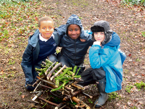 CHILDREN at Christ Church Junior School in Downend