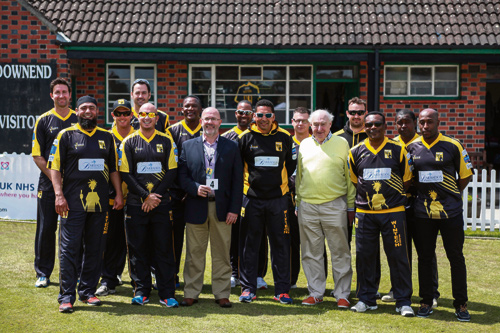 Getting ready to welcome The Lashings