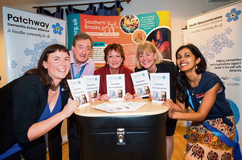 Pictured at the launch are, left to right: Eleanor Fairbrother, Paul Frisby, Julie Close, Amanda Deeks and Subitha Baghirathon