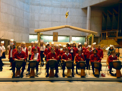 BLACKHORSE Primary School's link with the Hosanna Primary School in Uganda was highlighted in a major service at Clifton Cathedral.