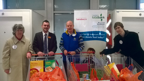 sainsburys emersons green foodbank