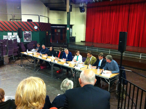 Hustings in Kingswood