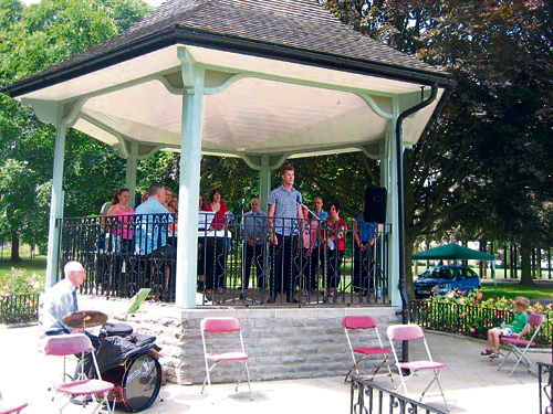 PAGE PARK GIG