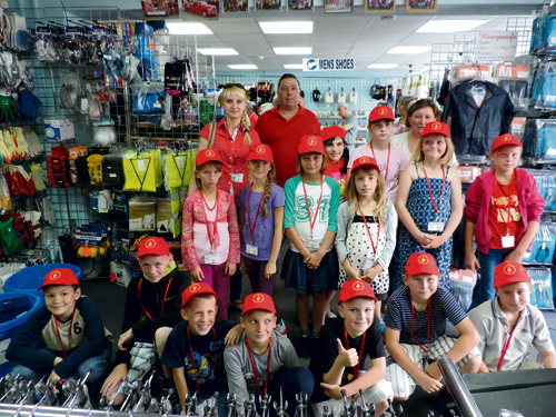A  STAPLE HILL businessman is supporting young people from Belarus who are living alongside the legacy of the Chernobyl nuclear disaster.