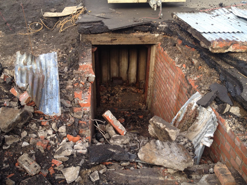 THE discovery of an air raid shelter beneath a school playground came as a surprise to many – but not to volunteer reading helper David Weeks.