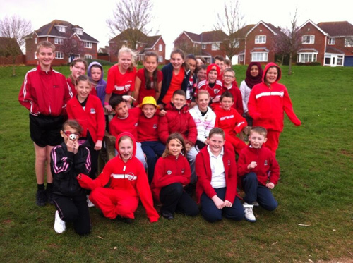 SEVERAL schools in the Downend area pulled out all the stops for Sport Relief.