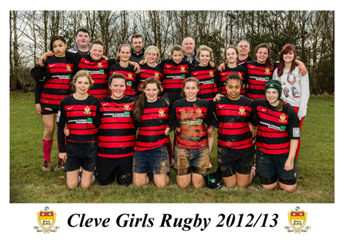 Cleve girls rugby