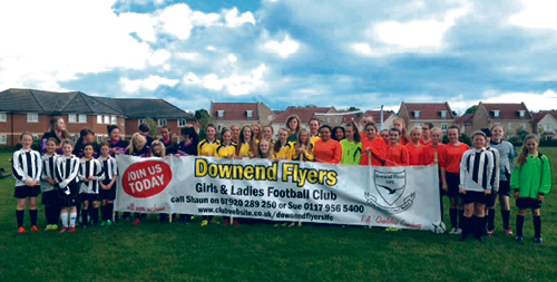 downend flyers girls football