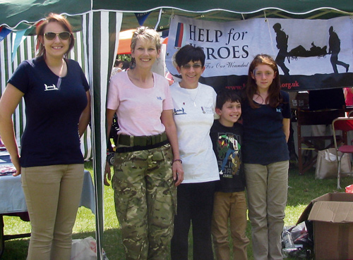 armed forces day help for heroes