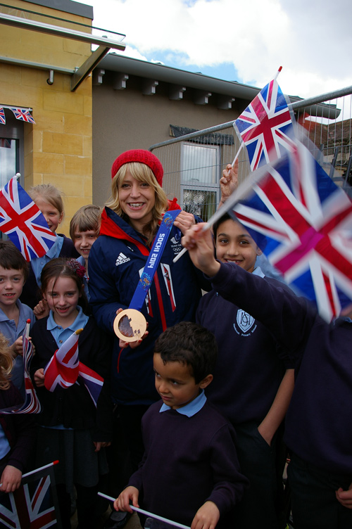 jenny jones at hambrook primary school bristol