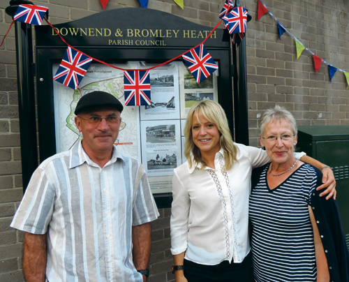 jenny jones and mum and dad