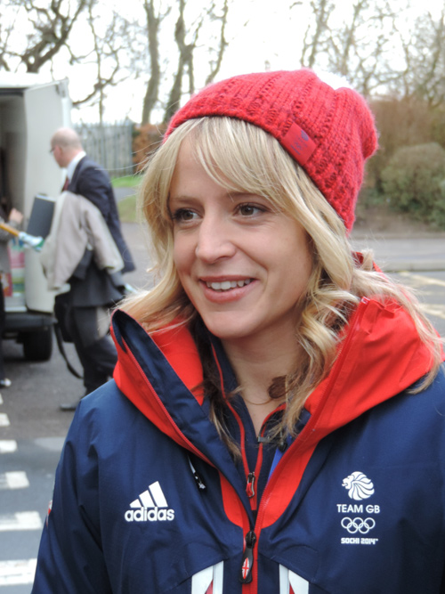 jenny jones arrives at downed school bristol