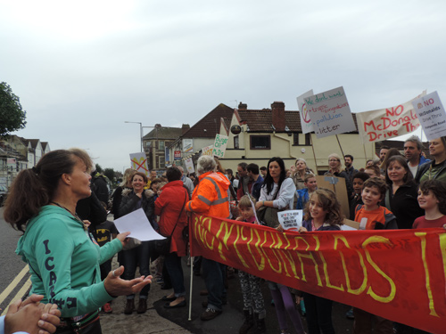 no to mcdonalds in fishponds