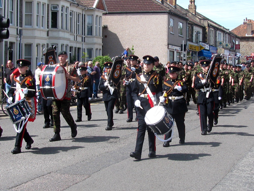 armed forces day march