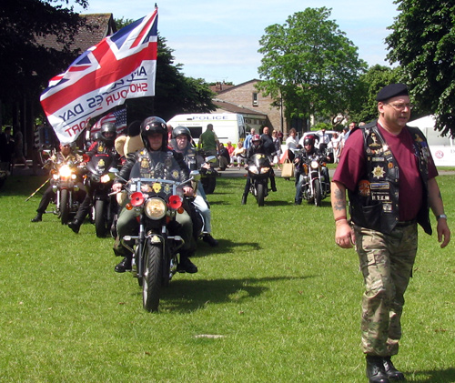 armed forces day bikers
