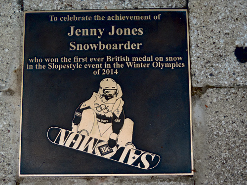 jenny jones plaque