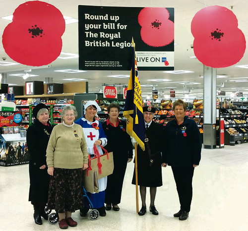 sainsburys and Staple Hill RBL