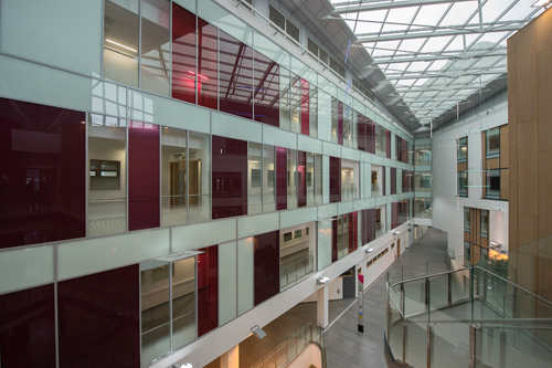 southmead hospital View-into-the-Atrium