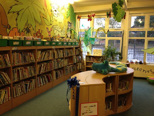 stanbridge school library