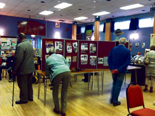 staple hill wwi exhibition