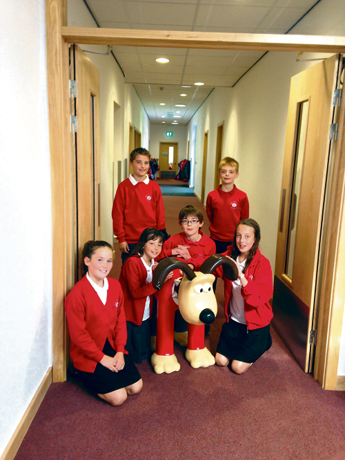 tynings-school-2014-15-with-Gromit-new-corridor