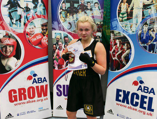 Double national success for Downend Boxing club